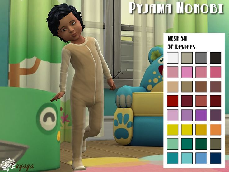 pyjama gigoteuse sims 4 bambin
