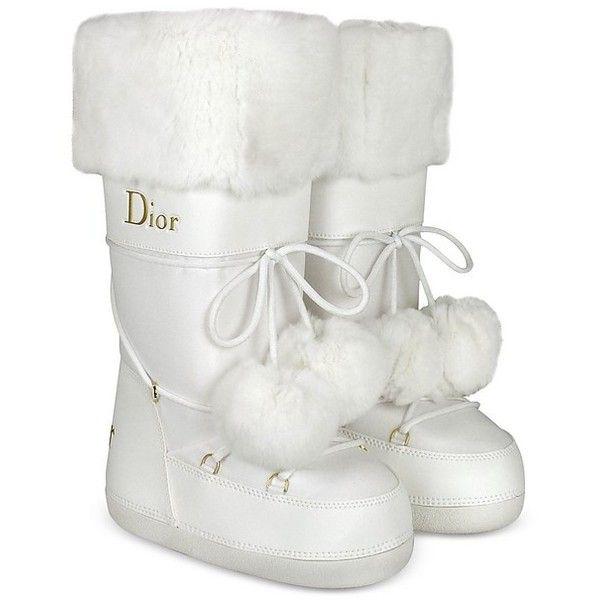 Christian Dior Polaire Signature White
