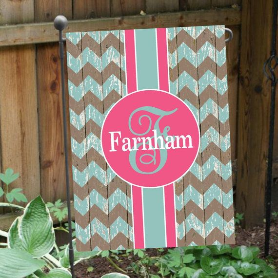 Personalized Flag DOUBLE-SIDED Garden Flag House by AlloraGifts