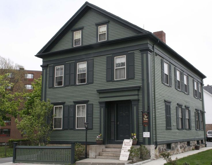 Americas Most Haunted Places: Lizzie Borden House, Fall River, Massachusetts You know this one:  Lizzie Borden took an axe And gave her mother forty whacks. When she saw what she had done She gave her father forty-one.  There's no surprise this place is haunted.