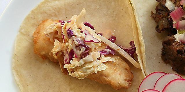 Julian Medina's Tacos de Pescado