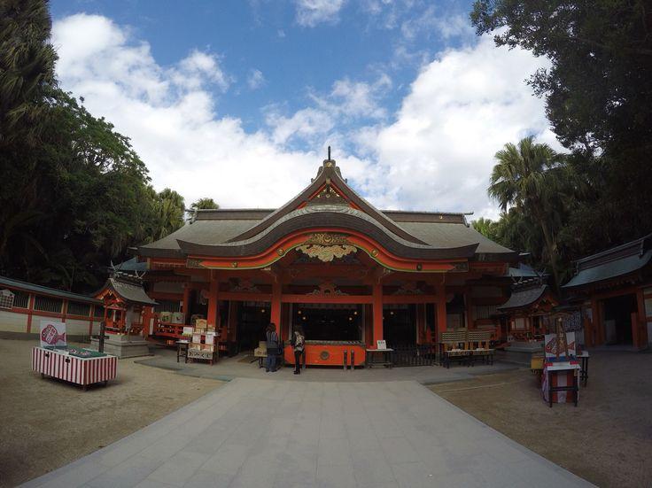 the Aoshima shrine 2