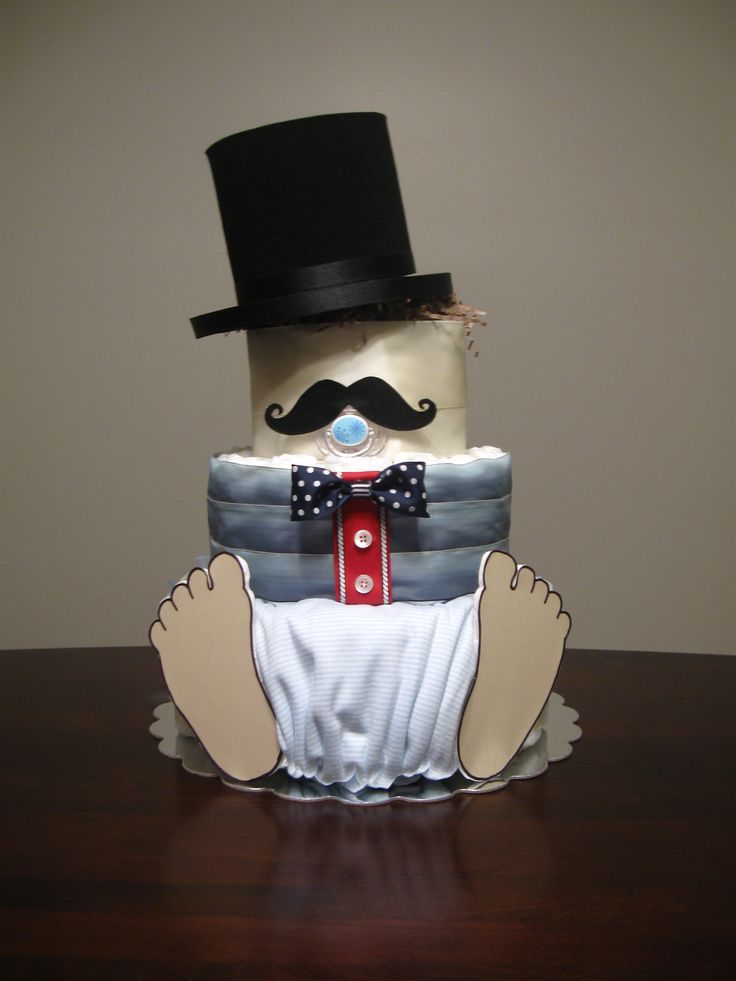 """Diaper Boy """"Mustaches & Bowties""""  Savannah's Couture Design and Events"""