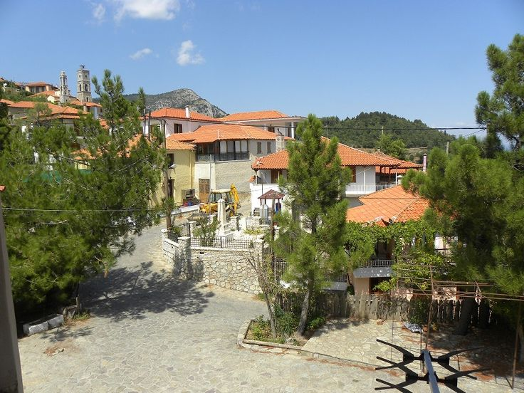 Anavryti Village on Mount Taygettus