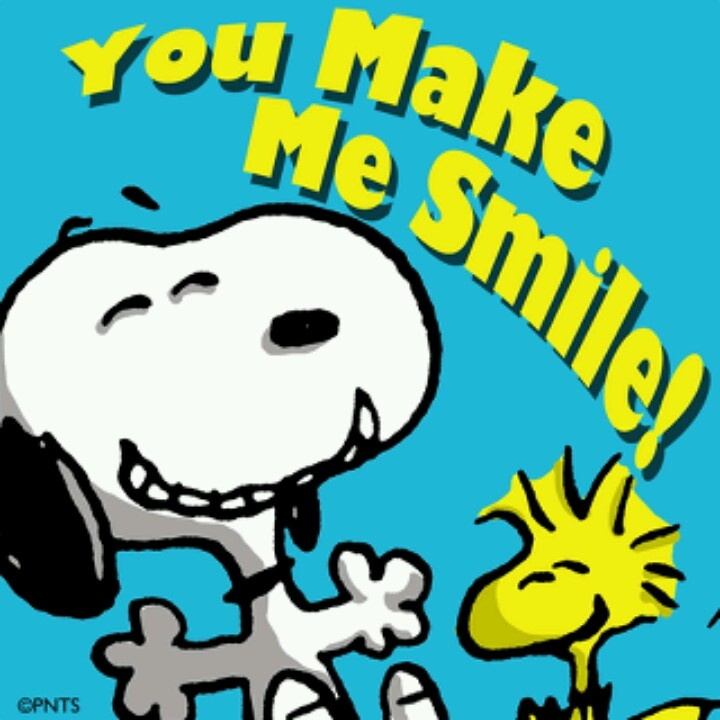 Thank You For Making Me Smile Everyday Quotes: Snoopy Happy Thursday Quotes. QuotesGram
