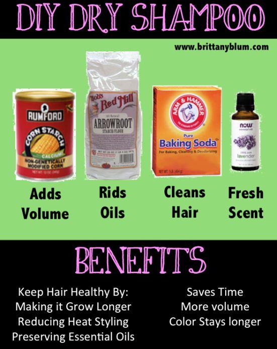DIY Dry Shampo :: www.brittanyblum.com