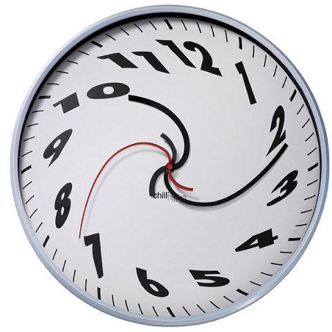 On pourrait presque se perdre dans l'affichage des chiffres sur cette horloge, si ils sont bien dans l'ordre il ne faudra pas regarder trop vite. Salvador dali aurait sans aucun doute é…