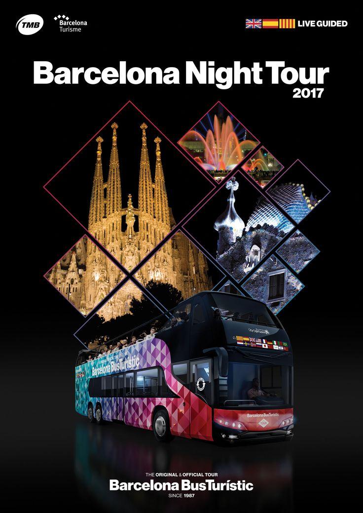 Poster / Barcelona Night Tour / TMB