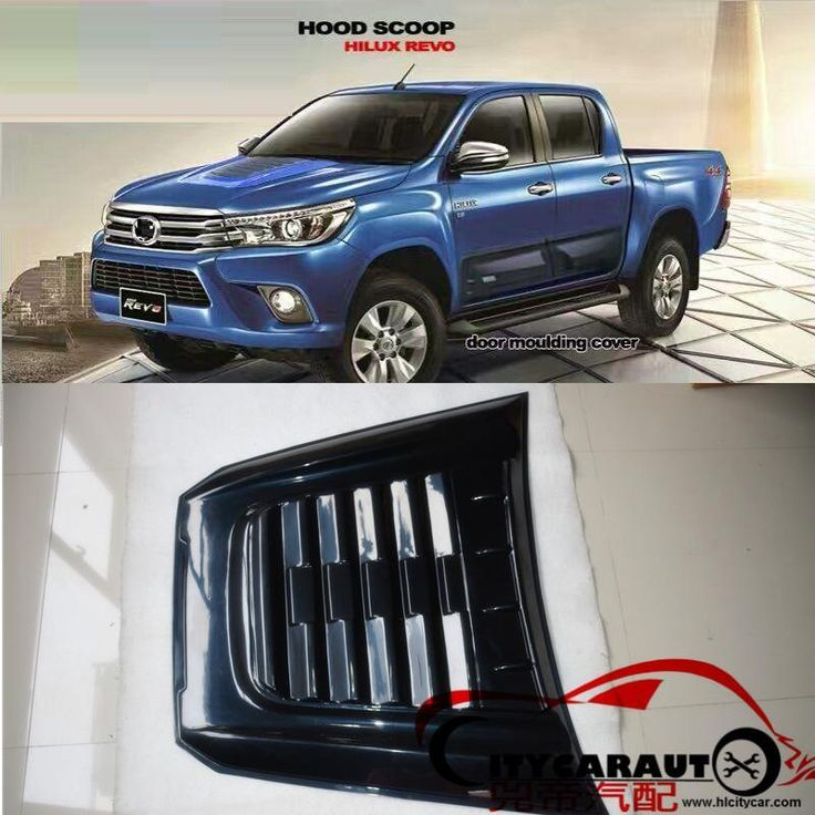 Citycarauto High Quality Bonnet Scoop Cover For Toyota Hilux Revo Everest Endeavor 2016 Raptor Hood Scoop Bonnet Cover Revo Raptor Hood