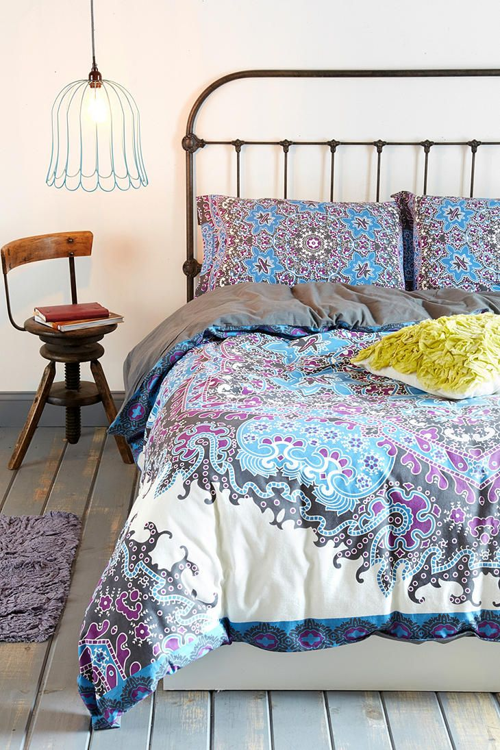 Magical Thinking Medallion Duvet Cover: