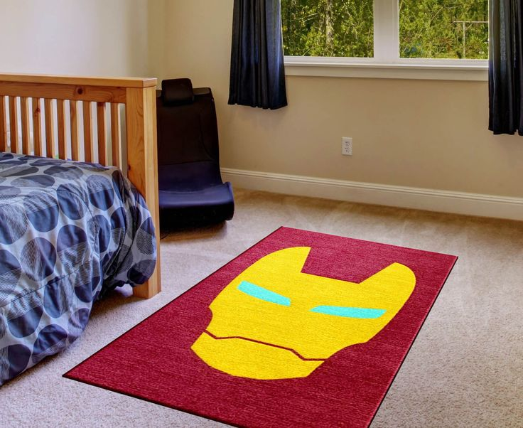 Exceptional Ironman Superhero Rug