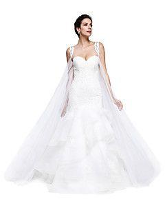 tüll+esküvői+fesztivál+/+esti+női+fülbevaló+klasszikus+női+stílusban+–+EUR+€+51.59