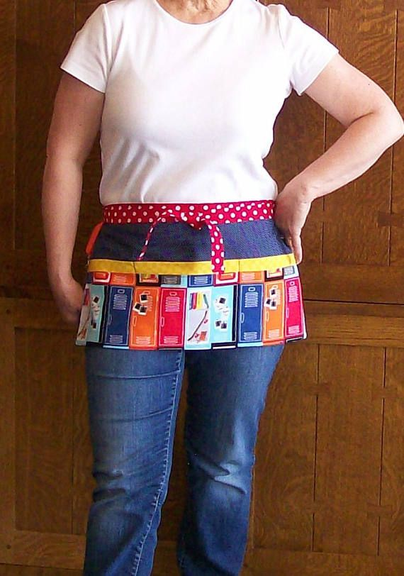 Locker Teacher Apron  Teacher Tool Belt Apron  One Size