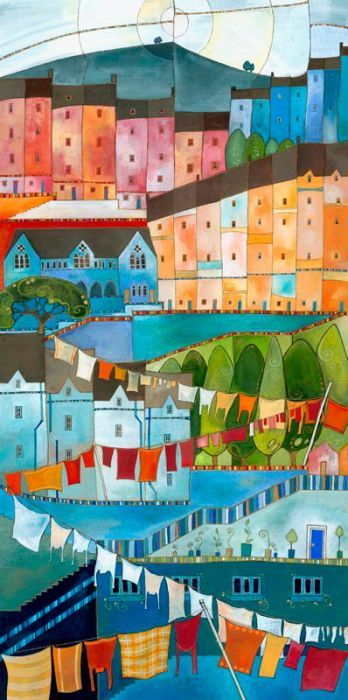 Hebden Bridge - love our town, and love this artist!