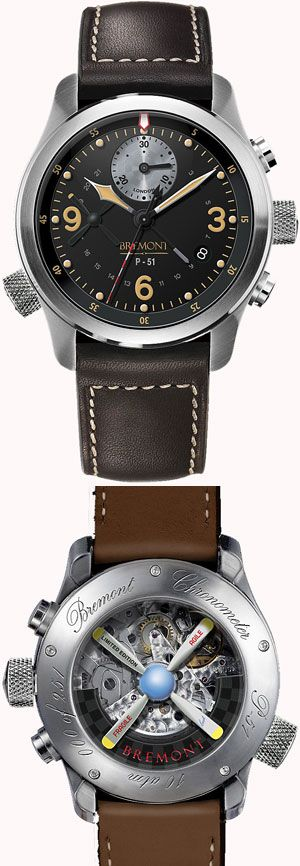 Bremont P-51 Mustang Limited Edition.  Oke its a mens watch.. but i think its pretty awsome
