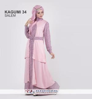 Gamis Wanita Ethica Kagumi 34 Salem - Ramadhan Sale