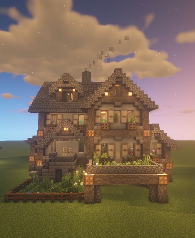 Minecraft Mansion, Minecraft