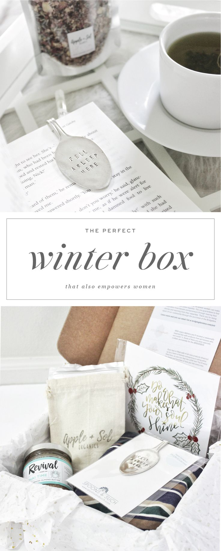 The perfect winter box that empowers women - Saffron Avenue : Subscription Box, Gift Box, Lady Boss, Hostess Gift, Boss Babe, Gifting,