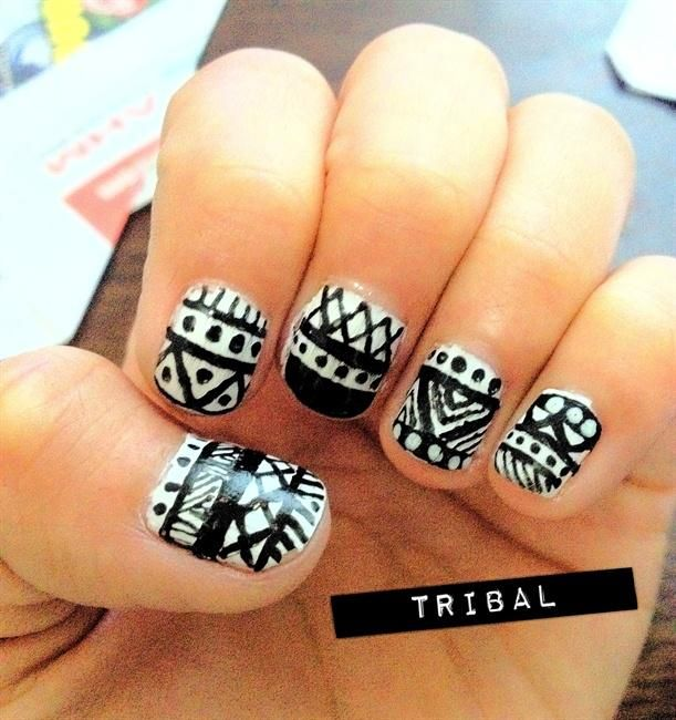 200 best nail design art2015 images on Pinterest | Chevron nail art ...