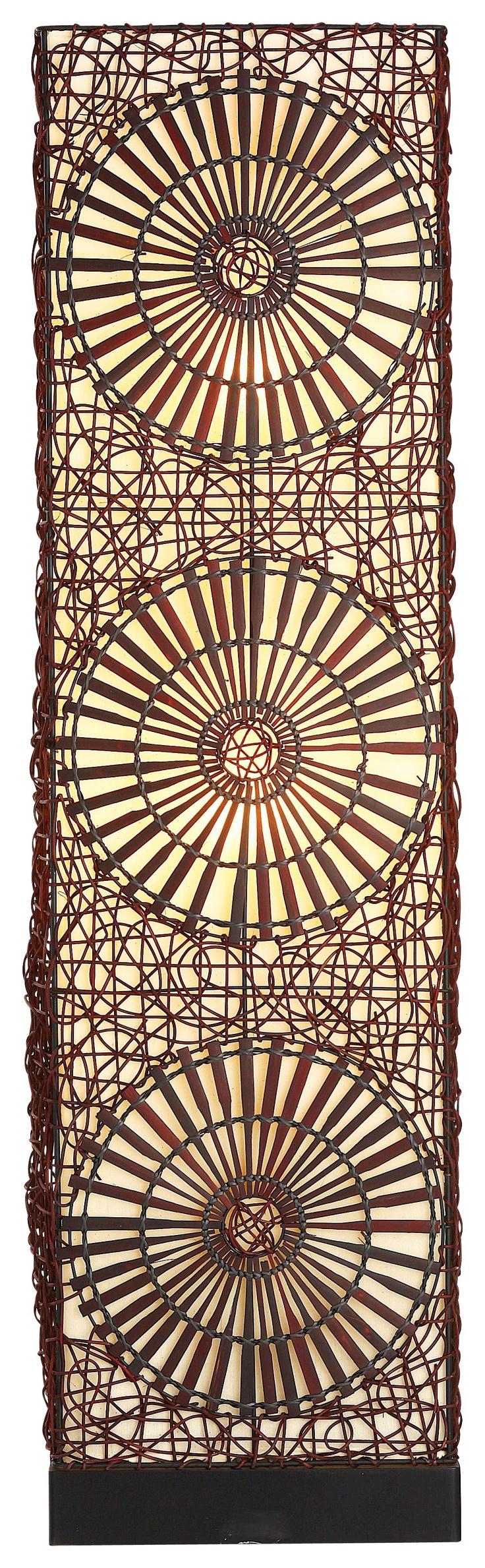 Lampe de sol Maori style Voyages en vente dans les magasins BUT
