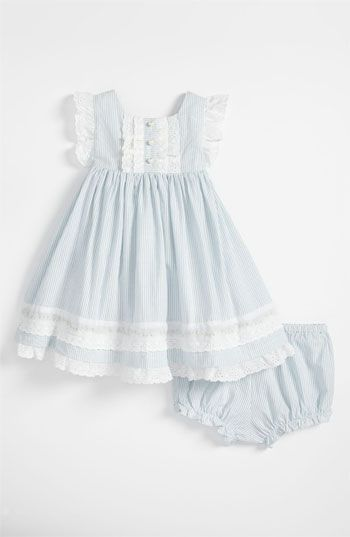 Love this!  Laura Ashley Woven Dress (Infant) | Nordstrom