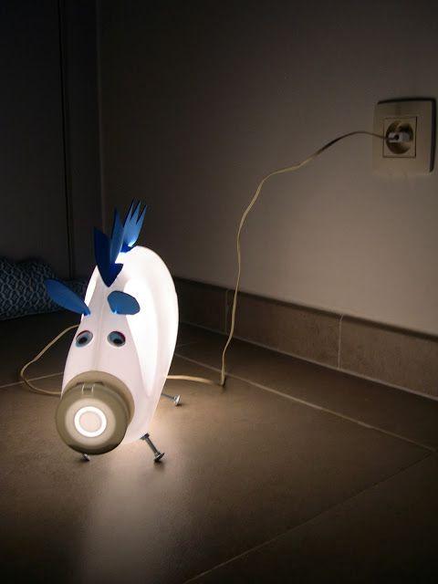 huisje tuintje dingetje: Beestig lampje * lichtjespret met Colette *