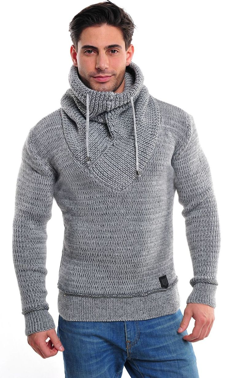 Ce-amp-Ce-by-WASABI-034-555-PULLOVER-034-KNITTED-PULLOVER-ROLLI-SWEATER-VINTAGE-MEN-039-S