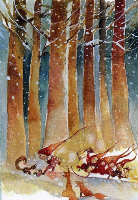 Christmas: Minna Immonen Illustration
