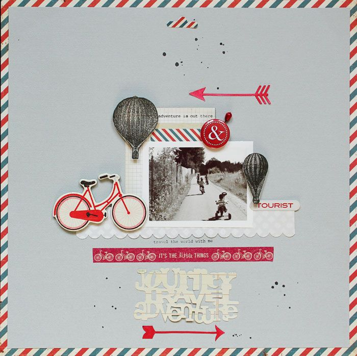 Oh my goodness...this is AMAZING! Lilith's scrapbooking venture