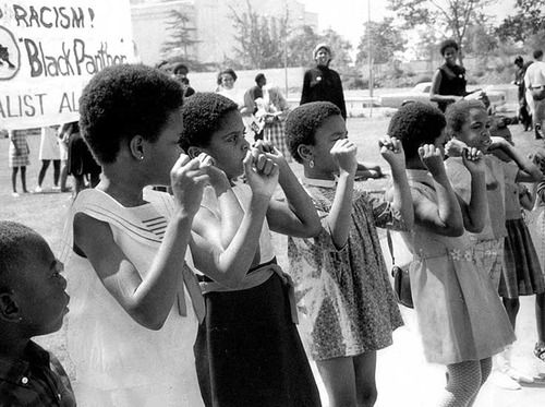 Panther Girls Oakland, 1969 <3