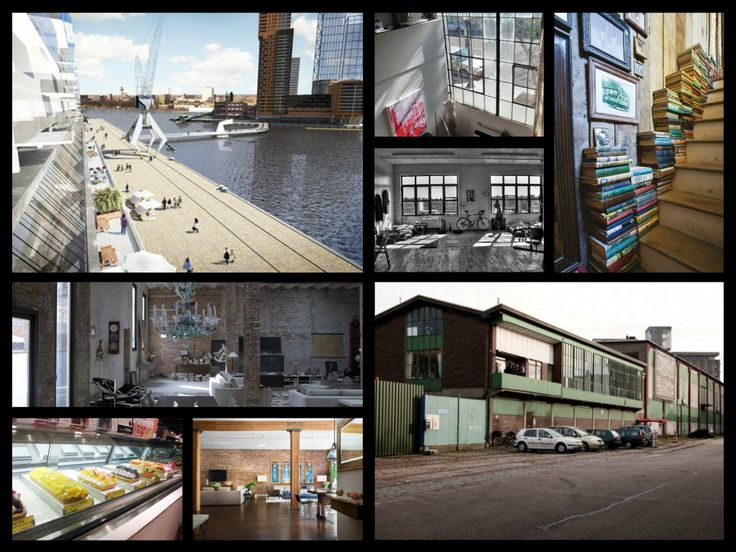 Wonen in voormalige industriële loodsen in Katendrecht Rotterdam