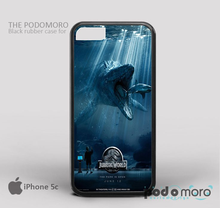 Mosasaurus Jurassic World for iPhone 4/4S, iPhone 5/5S, iPhone 5c, iPhone 6, iPhone 6 Plus, iPod 4, iPod 5, Samsung Galaxy S3, Galaxy S4, Galaxy S5, Galaxy S6, Samsung Galaxy Note 3, Galaxy Note 4, Phone Case