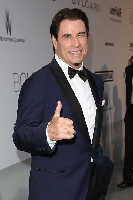 "John Travolta #JohnTravolta A parade of Hollywood stars for the annual event  ""amfAR Cinema Against Aids"" in Cannes #amfARCannes"