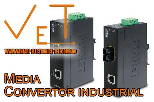 Un media convertor industrial este mai mult decat ideal pentru aplicații în cadrul centrelor de date din fabrici, in aer liber sau chiar in locuri caracterizate prin temperatura extrem de scăzuta sau ridicata. De asemenea este un aparat fiabil care prezinta bune caracteristici de securitate, asigurand astfel o functionalitate constanta chiar si intr-un mediu exterior dur. Aflati mai multe detalii pe http://www.vanzari-electronice-telecoms.ro/produs/717/media-convertoare-industriale.html
