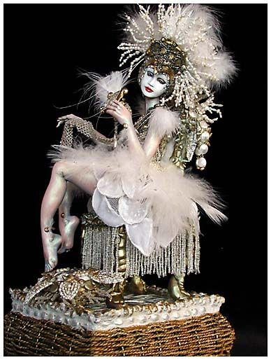 """Marilyn Radzat """"The White Peacock"""""""