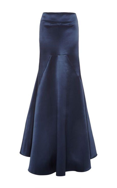 M'O Exclusive: Nomadic Satin Maxi Skirt by Ellery - Moda Operandi