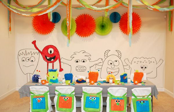 Monster party (with printables)