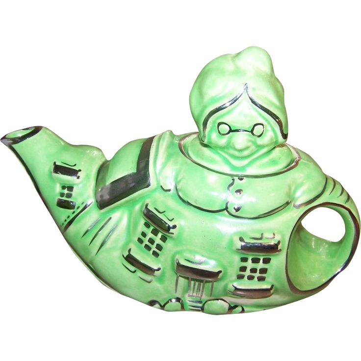 Old Lady In Shoe Teapot