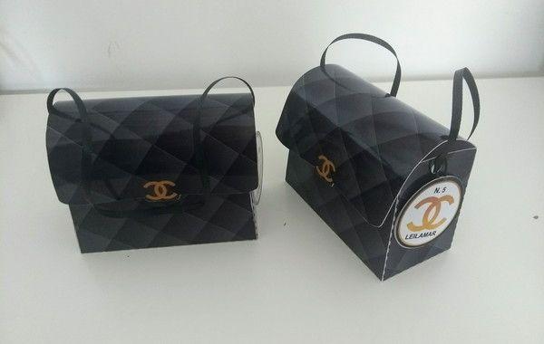 bc950e86b lembrancinha Bolsa Coco Chanel rosa no Elo7 | Fiori Personalizados por  Juliana Mota (A3F654)