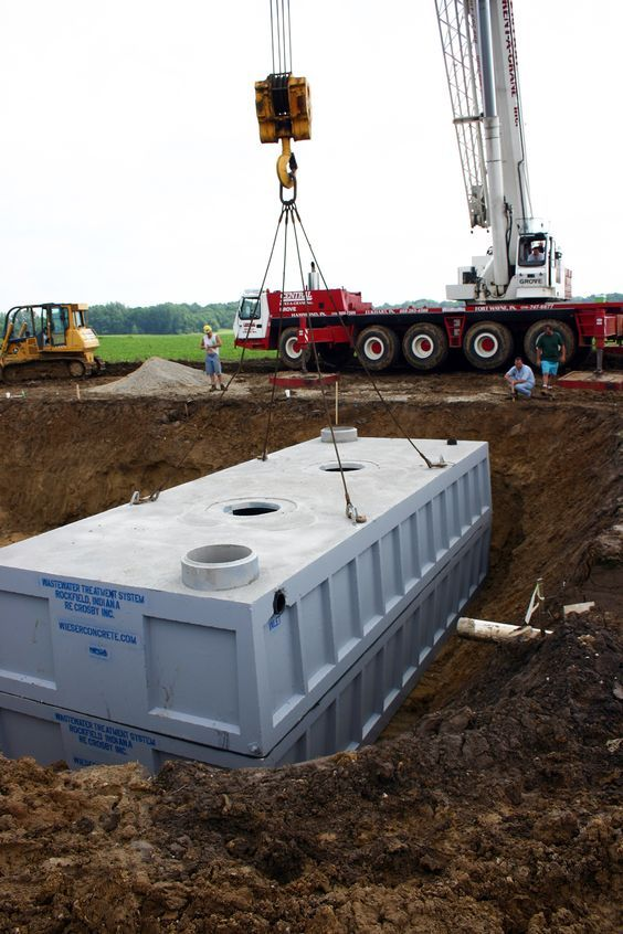 16 best concrete septic tanks images on pinterest for Concrete advice