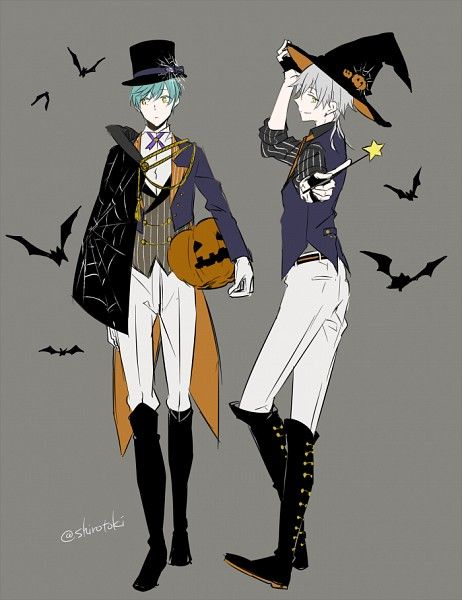 Anime Characters For Halloween : Best images about halloween anime on pinterest