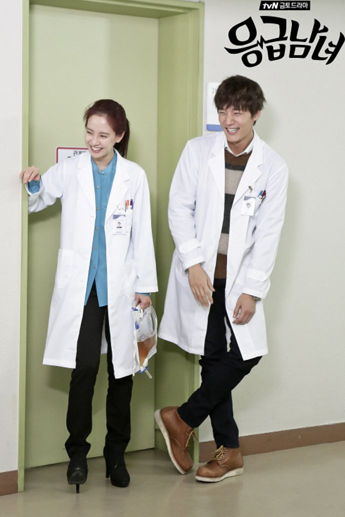 "Cuteness overload! ""Emergency Couple"": Choi Jin Hyuk, Song Ji Hyo, & Clara The Hospital Interns 