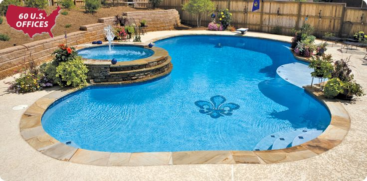 74 Best Images About Pools On Pinterest Fiberglass Inground Pools Swimming Pool Designs And
