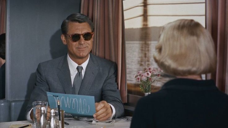 Roger O. Thornhill (Cary Grant) in North by Northwest (1959)