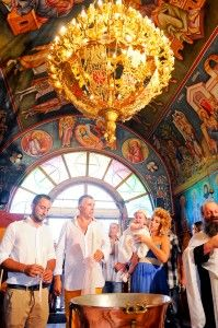 Little girl Christening Day with Godparents - Amazing Architecture - Stunning Chandelier - Exquisite Artwork -Kremasti Monastery - Greek Orthodox Church - 1700 AC - Photography Con Tsioukis - ICON PHOTOGRAPHY MELBOURNE - www.iconphotos.com.au