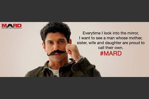 Men Against Rape and Discrimination' is a social campaign launched by Farhan Akhtar against rape and sexual discrimination of women in Indian society. If you are a man who respects women… her rights, her dignity, her independence, her mind, her body, her life… you are a MARD.
