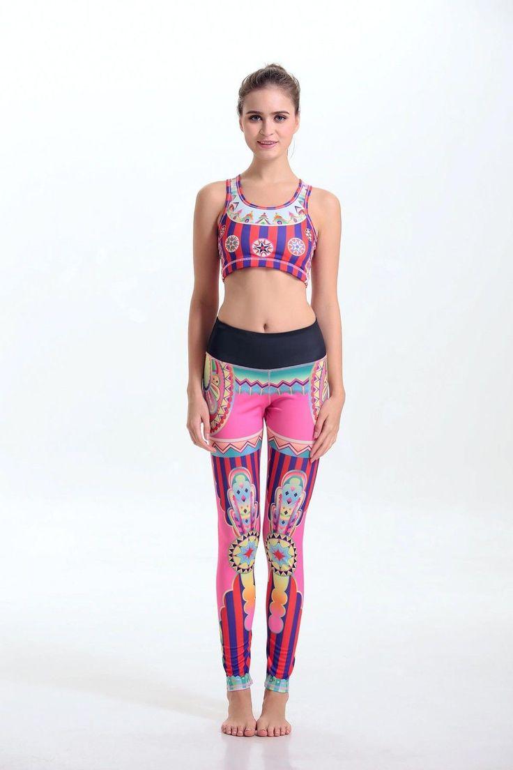Elasticity Abbigliamento Sportivo Donna Yoga Fitness Sport Tuta Gilet Pantaloni in Abbigliamento e accessori,Donna: abbigliamento,Abbigliamento per lo sport | eBay
