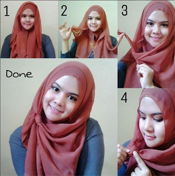 Tutorial Hijab Muka Oval Hijab Tutorial Hijab Style Tutorial Hijab