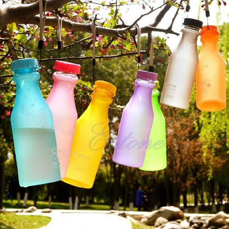 Portable Leak-proof Unbreakable Sport Travel Water Bottle Cycling Camping Cup Free shipping-Y102