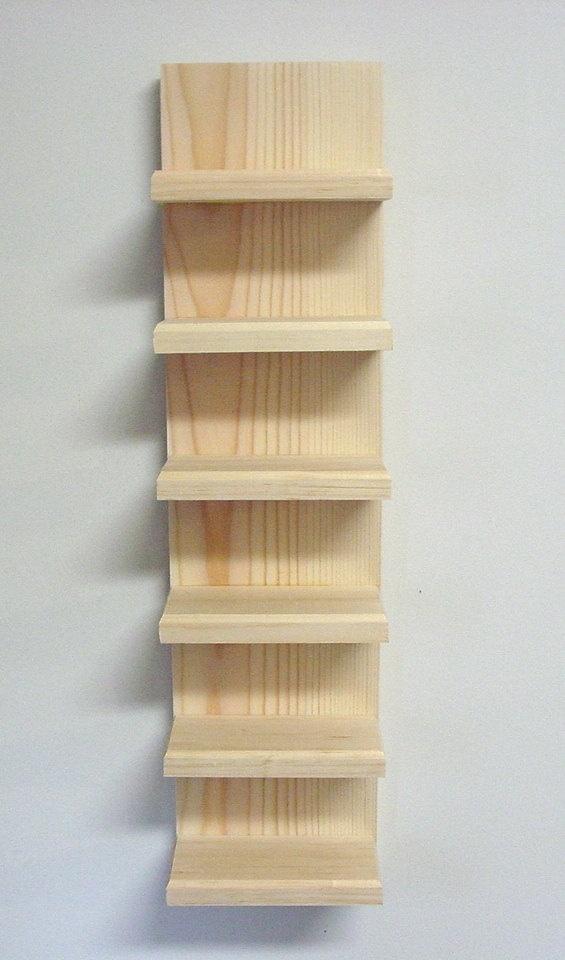 "24"" Unfinished Wall Mount Sunglasses, Shelf, display rack, organizer, Holder. $14.95, via Etsy."